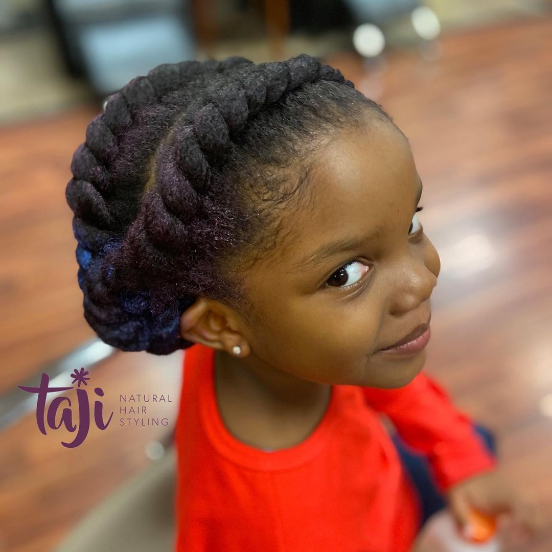 black hairstyles for kids NHP Approved