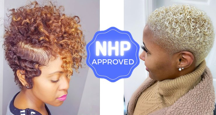 Short Hairstyles for Black Women Girls NHP Approved