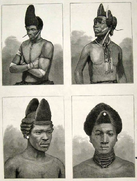 African Zulu Warriors