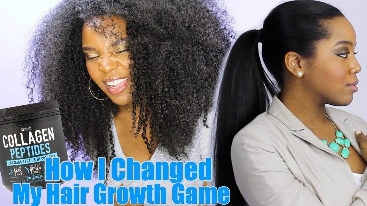 diatomaceous earth hair growth vs Collagen peptides can grow type 4c hair, diatomaceous earth grows Black hair, nails and skin. See more, click here...