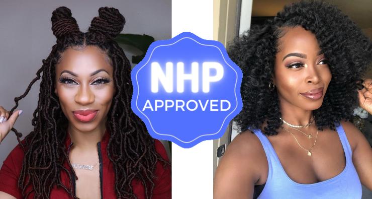 Crochet braids Black women NHP Approved