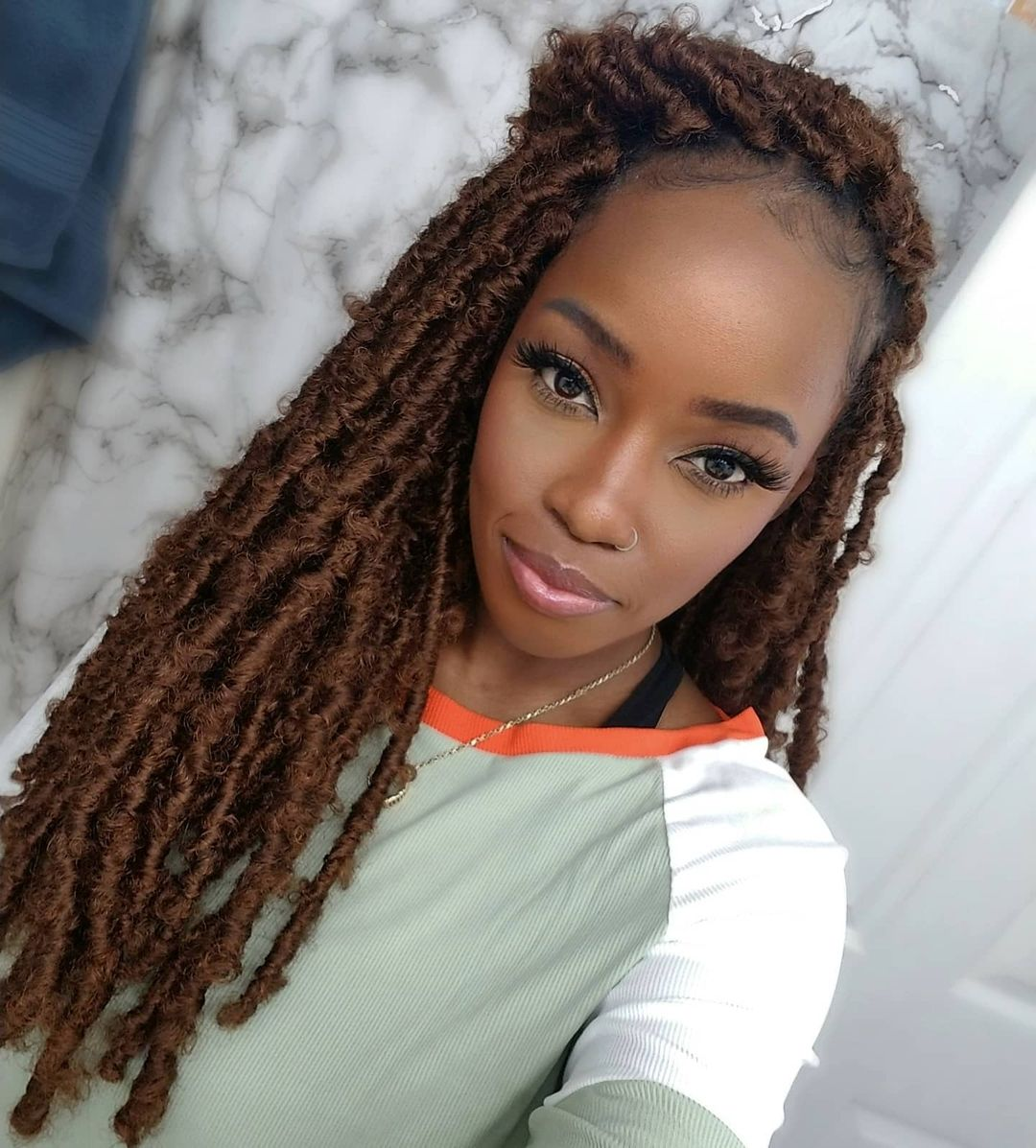 Crochet braids for Black women girls - Protective hairstyles cute NHP Approved
