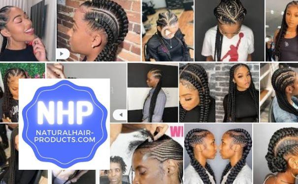feed-In braids - stitch braids
