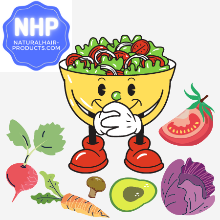 foods for hair growth nhp approved nutrients in veggies