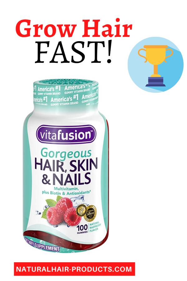 Vitafusion Gummy Hair Growth vitamins