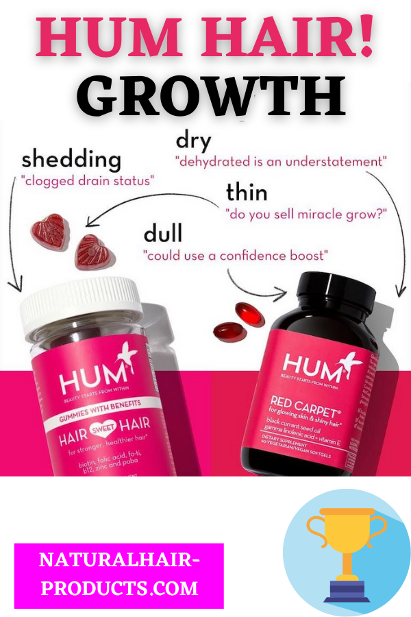 HUM hair growth vitamins