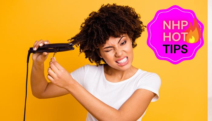 infrared hair straightener VS ceramic flat irons nhp hot tips