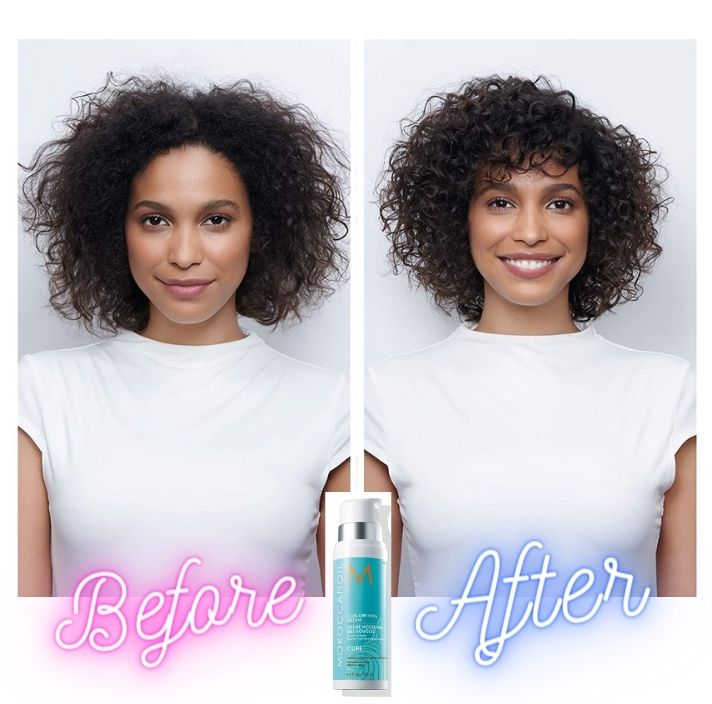 What does moroccan oil do to your hair even though not curly girly approved or friend for CGM method. Moroccanoil Curl Defining Cream