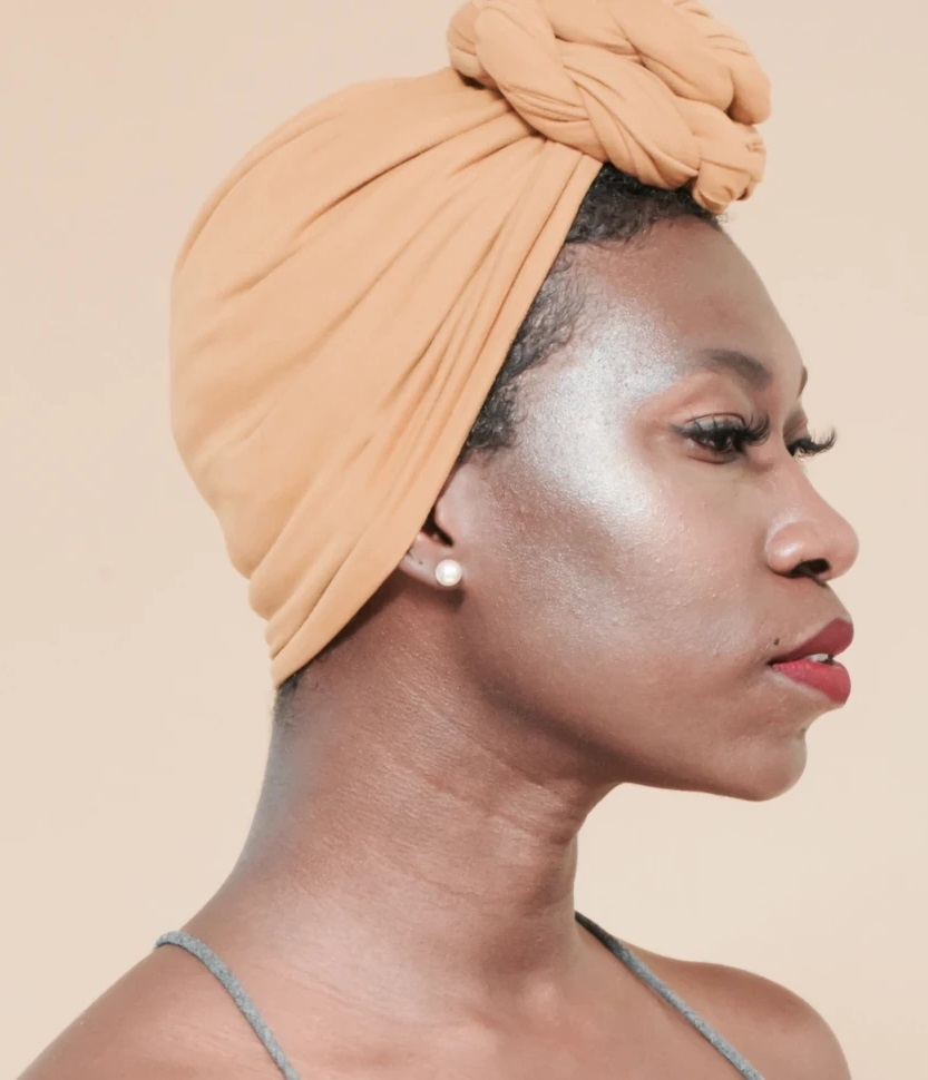 Pre-tied Head Wraps for Natural Hair Soft