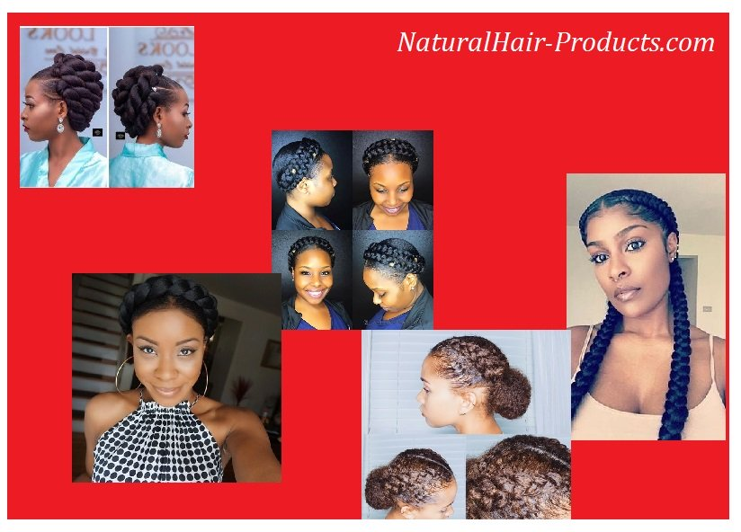 SEE MORE protective styles for natural hair braids at NaturalHair-Products.com w/ Melissa Lee. Quick & easy wedding hairstyles, bridal crochet,short to long Black womens 4c hair. See latest...