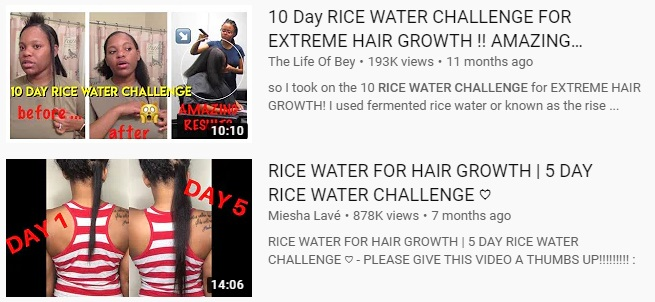 does-rice-water-dry-your-hair-out rice-water-challenge