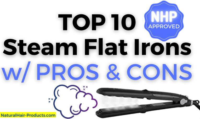 Steam flat iron NHP Approved